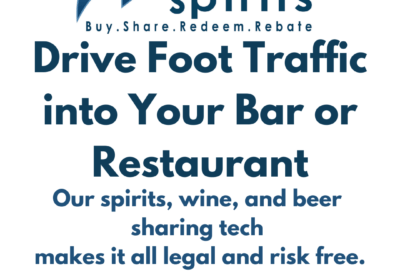 A Way to Drive Foot Traffic into Your Bar or Restaurant