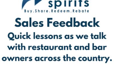 Sales Feedback is so Valuable
