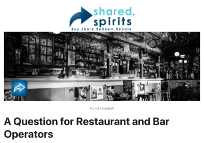 A question for restaurant and bar operators.